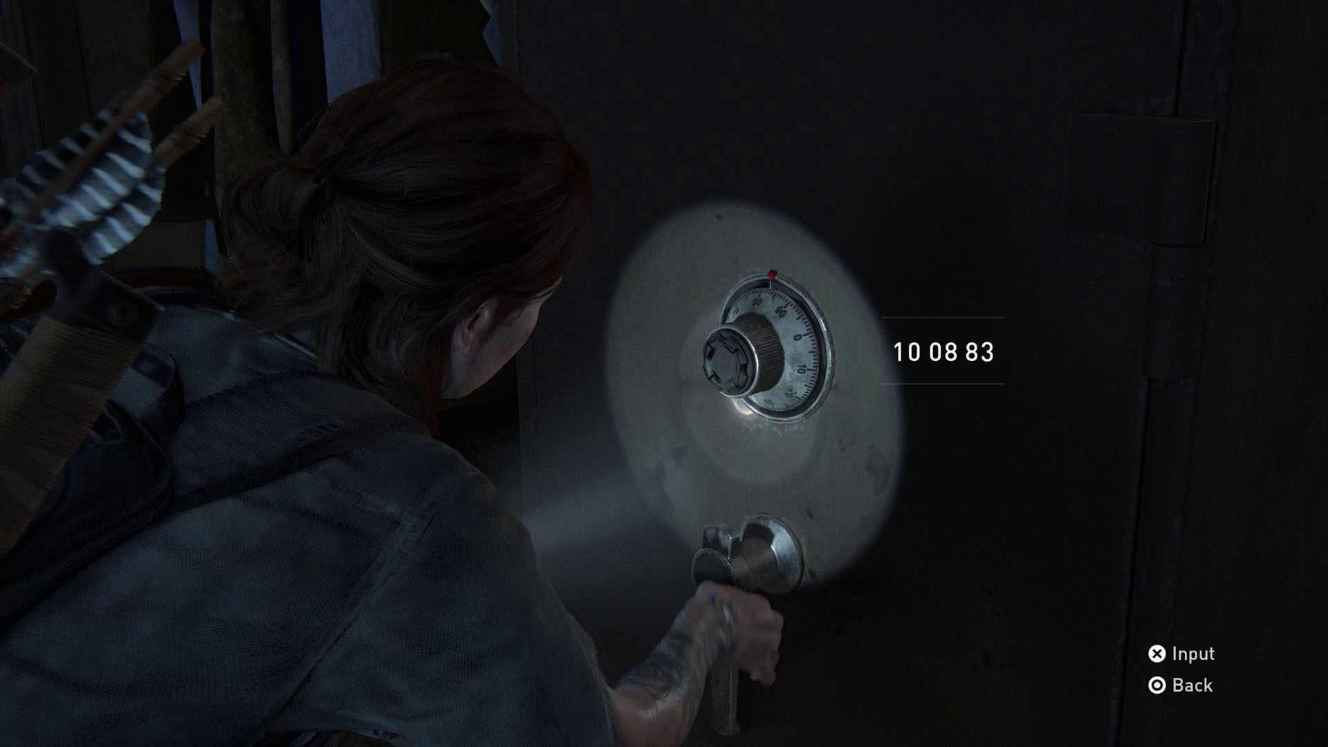 The Last of Us 2 safe codes - apartment safe