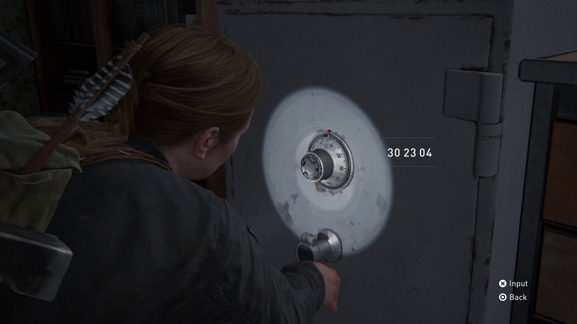 The Last of Us 2 safe codes - apartment 2 combination