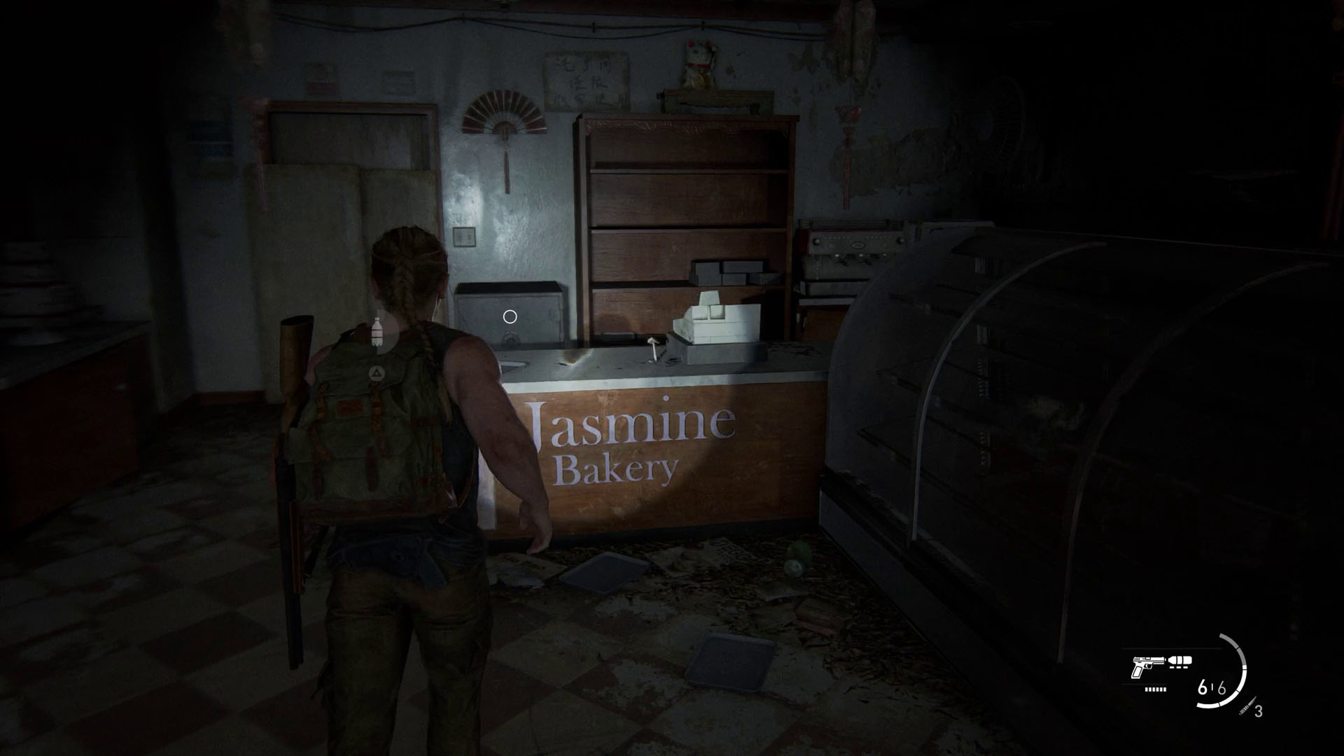 The Last of Us 2 safe codes - jasmine bakery safe