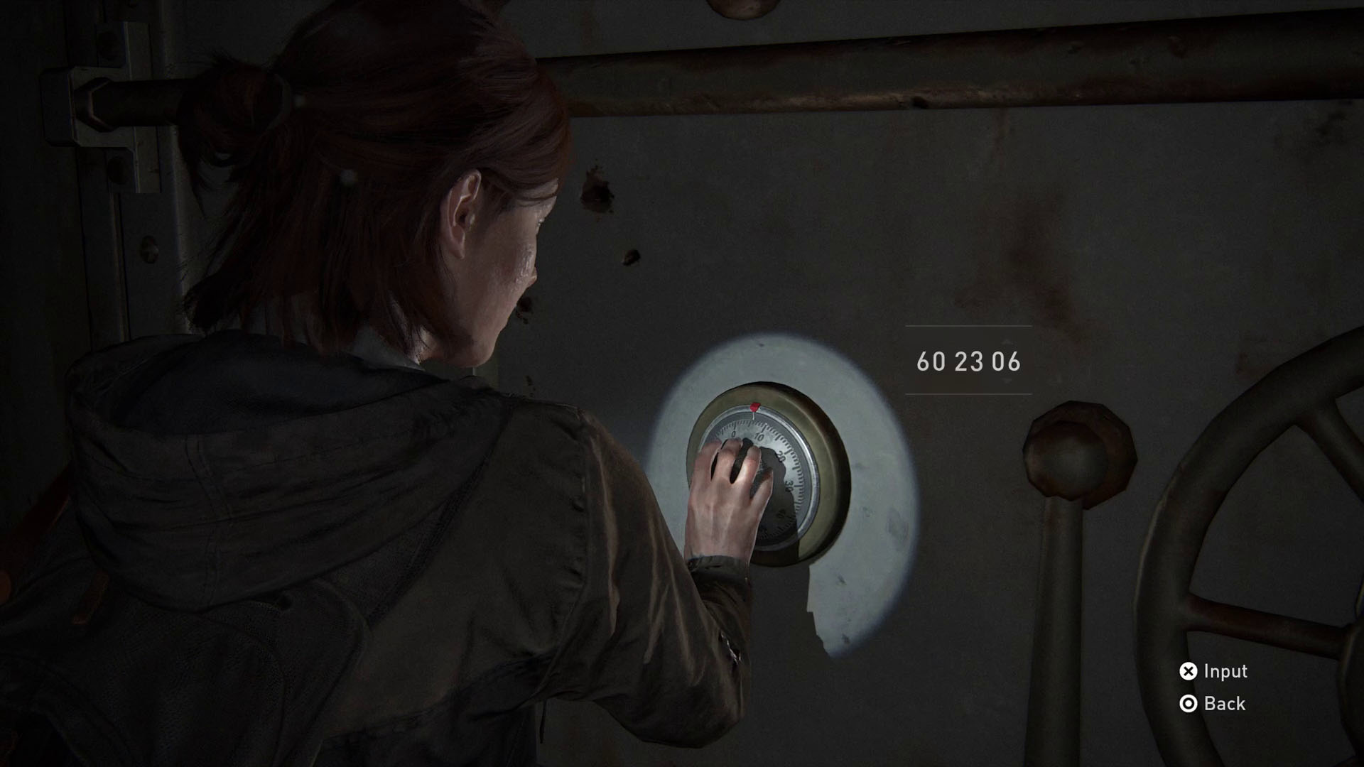 The Last of Us 2 safe codes - bank vault