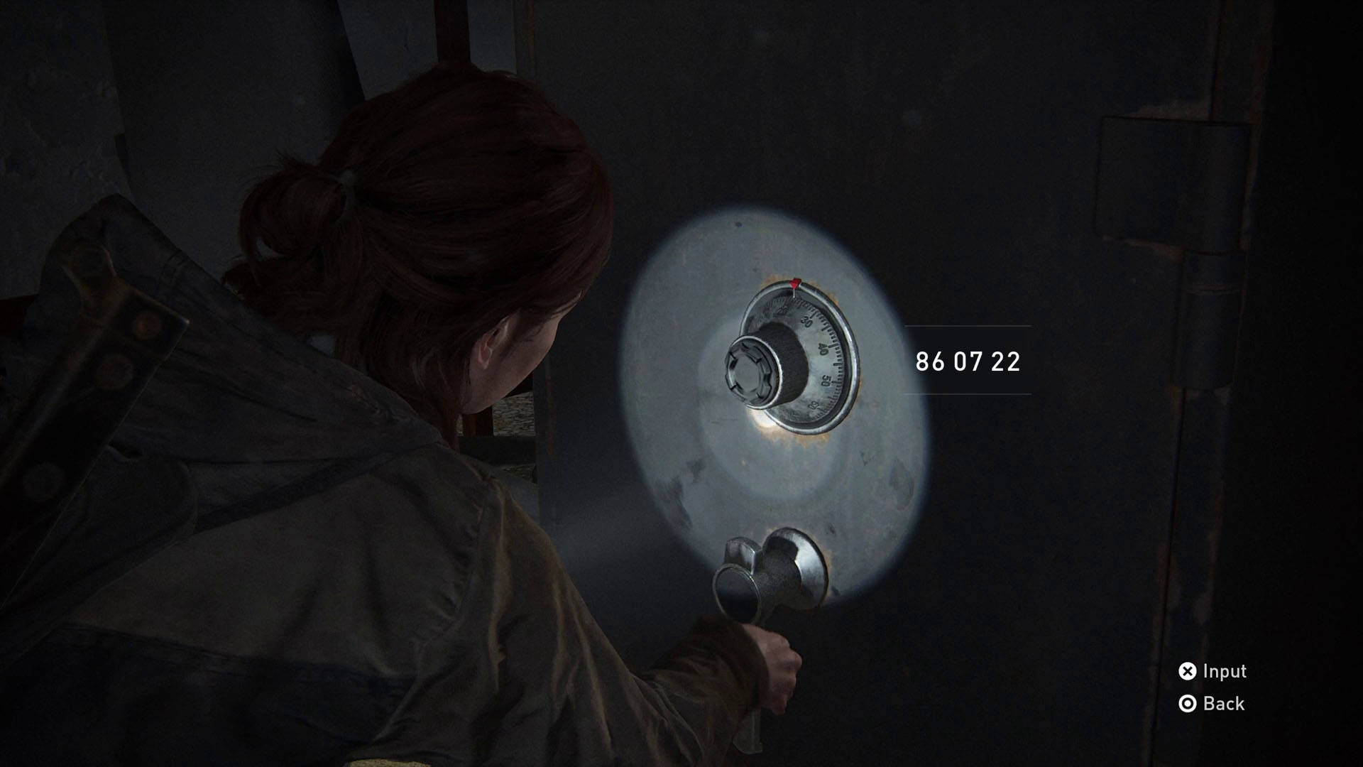 The Last of Us 2 safe codes -  courthouse office safe