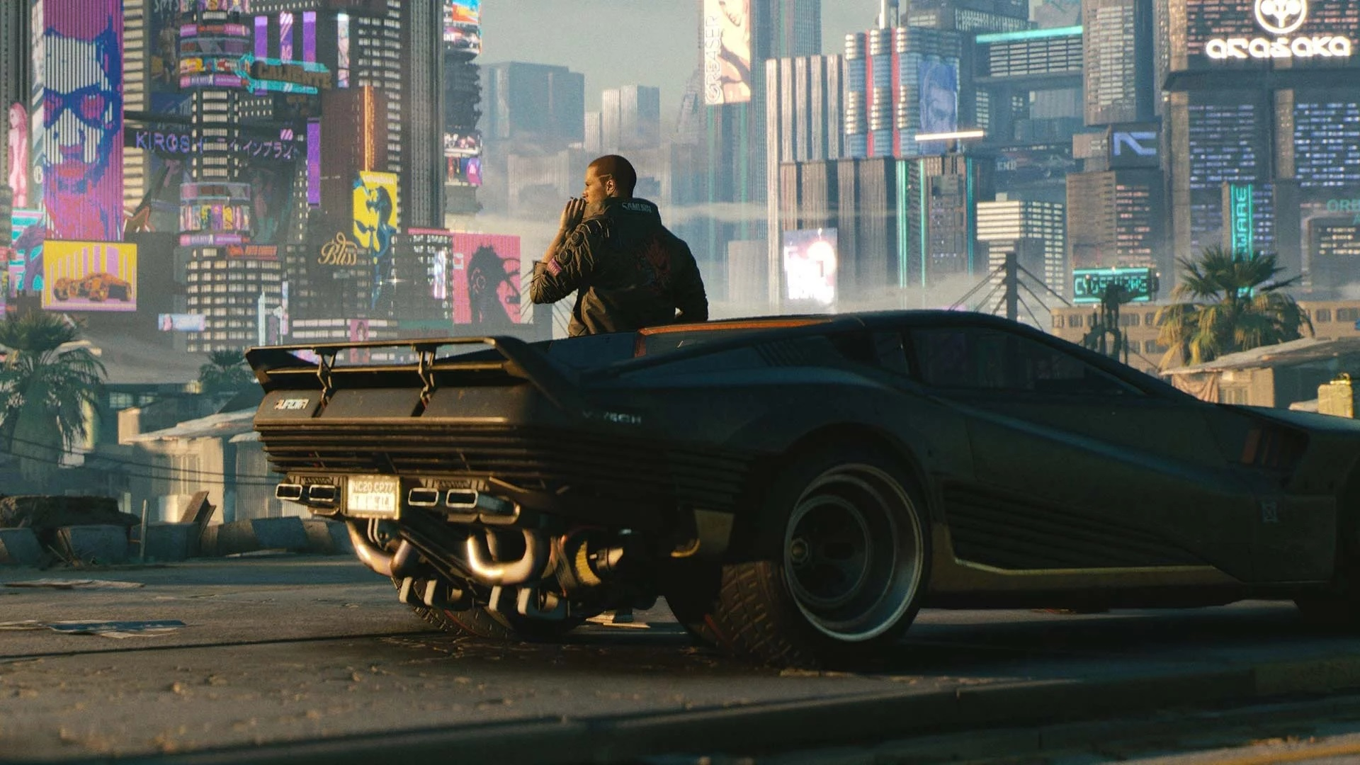 can you steal cars in Cyberpunk 2077?