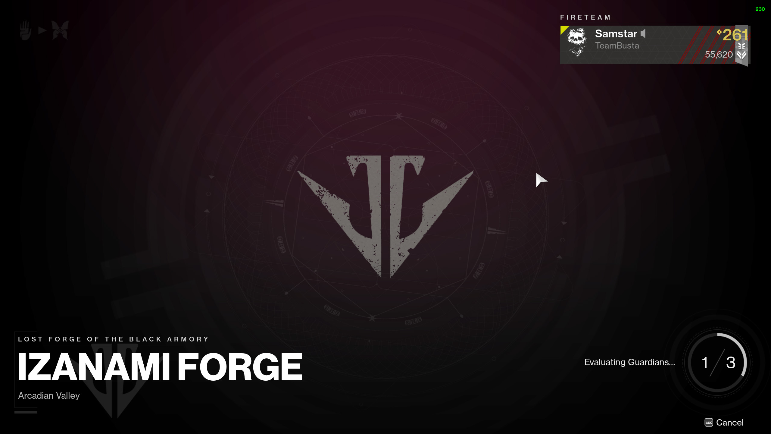 destiny 2 afk farm forge