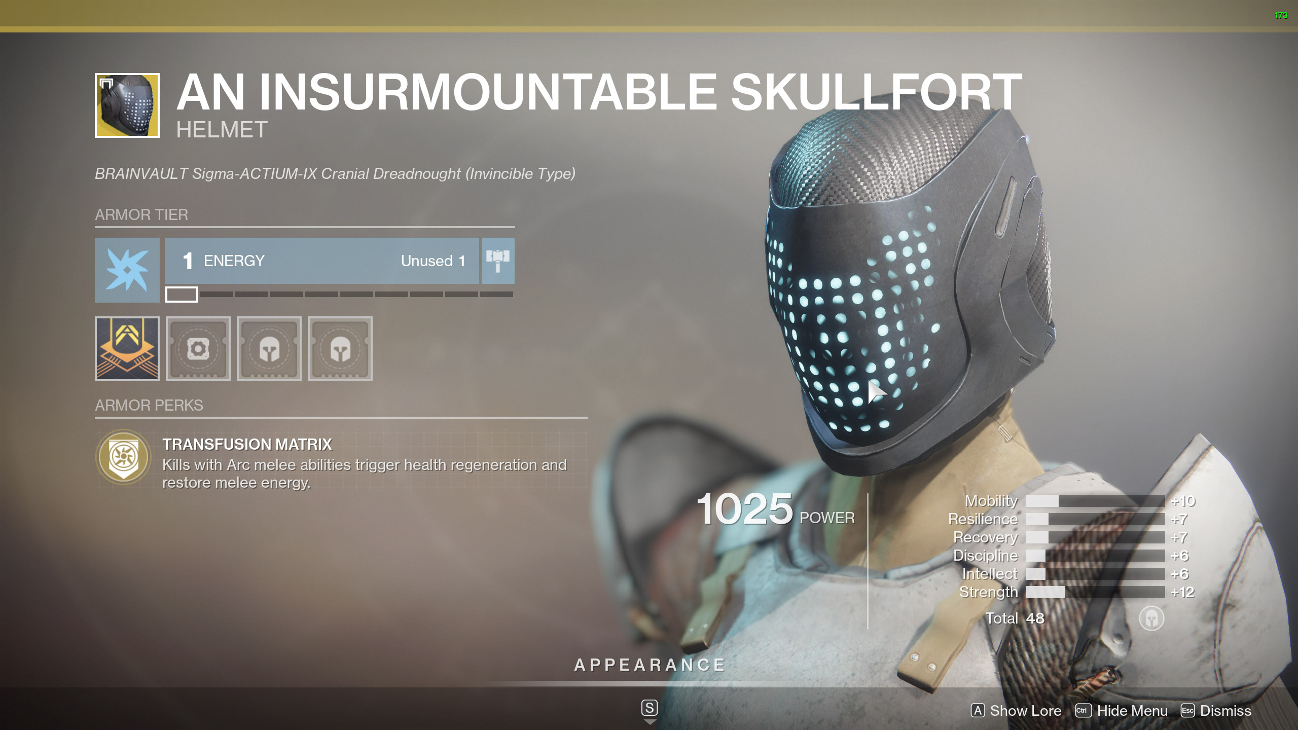 Destiny 2 Exotic Titan Armor An Insurmountable Skullfort