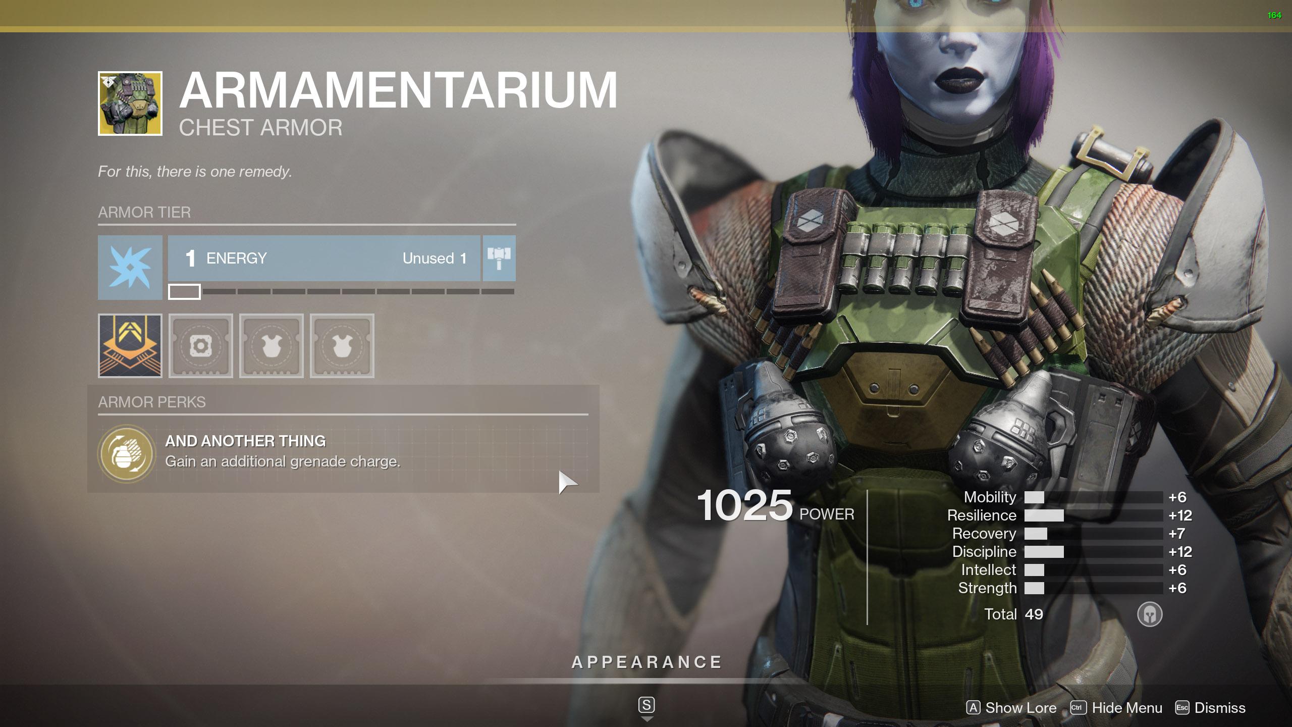 Destiny 2 Exotic Titan Armor Armamentarium