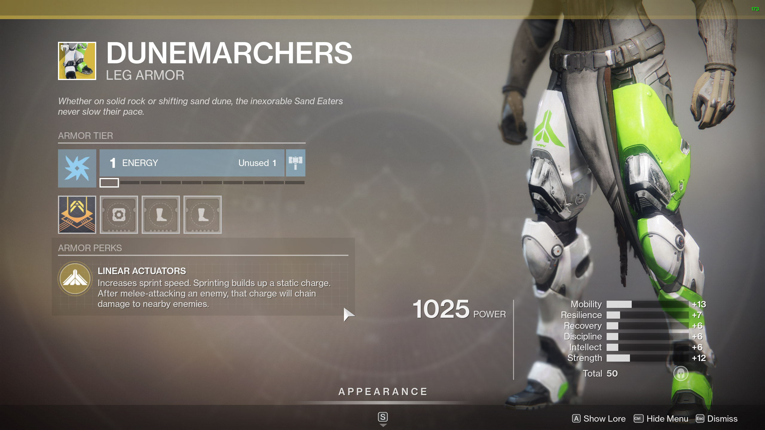 Destiny 2 Exotic Titan Armor Dunemarchers
