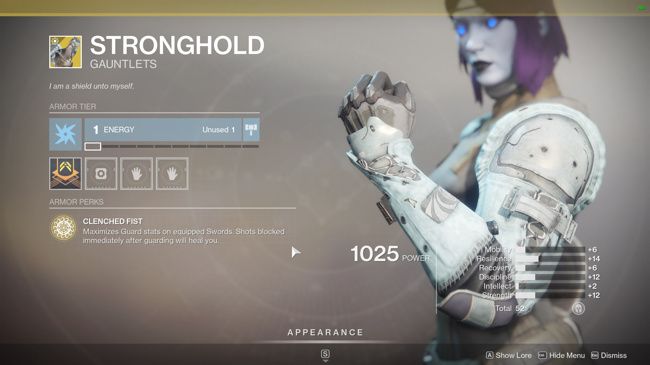 Destiny 2 Exotic Titan Armor Stronghold