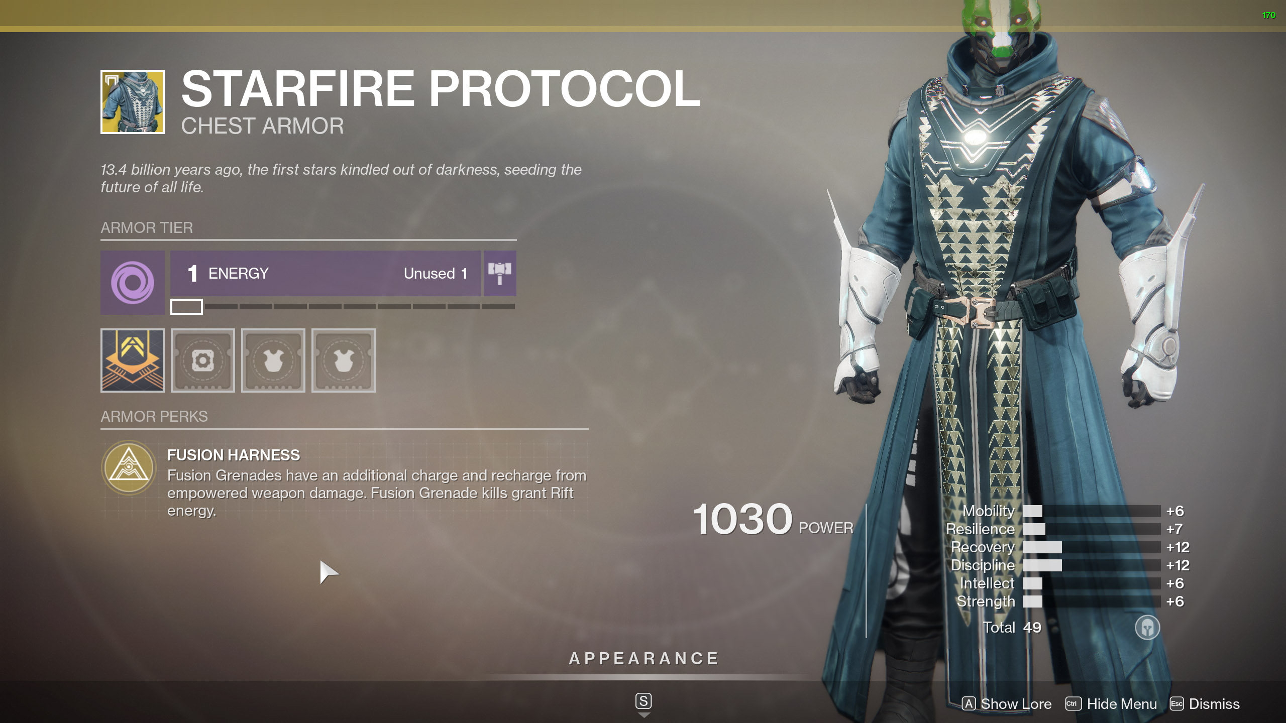 Destiny 2 Exotic Warlock Armor Starfire Protocol