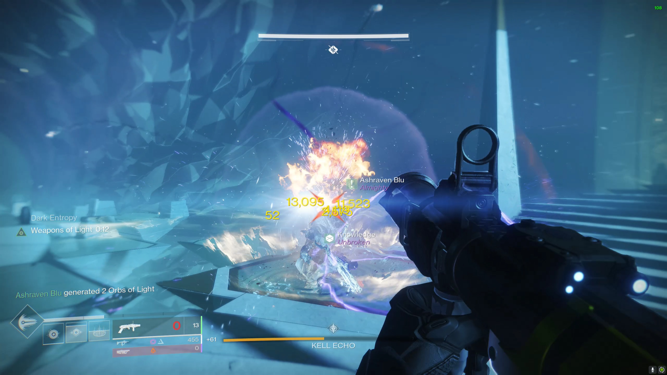 Destiny 2 Prophecy dungeon Kell Echo boss fight
