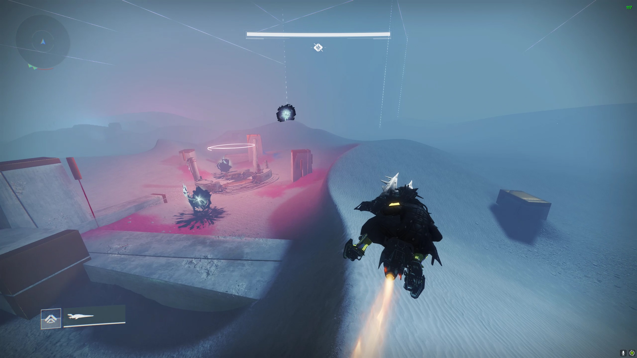 Destiny 2 Prophecy dungeon Wasteland Follow Kell Echo