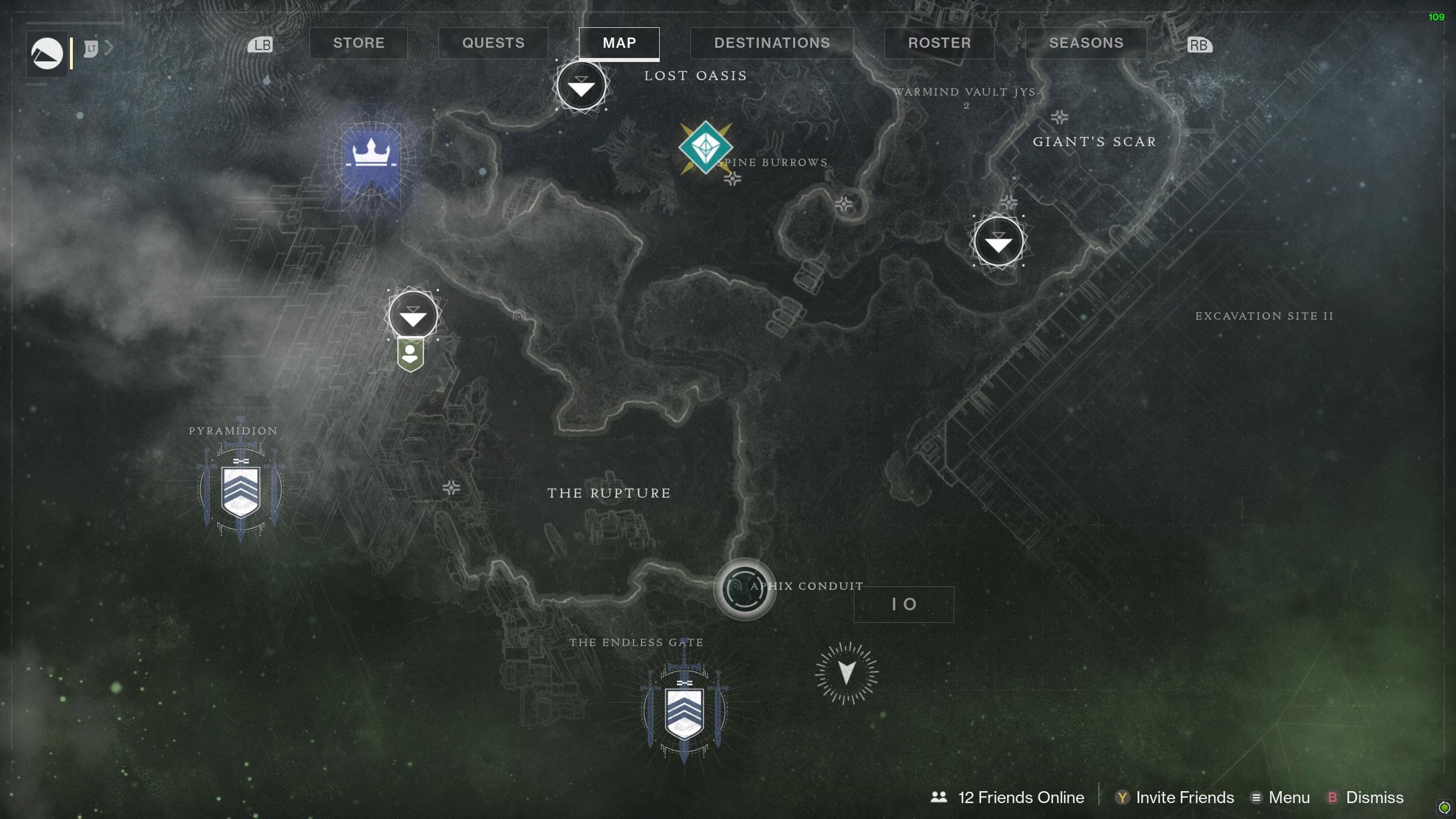 Destiny 2 Savanthuns Eyes Io Aphix Conduit map