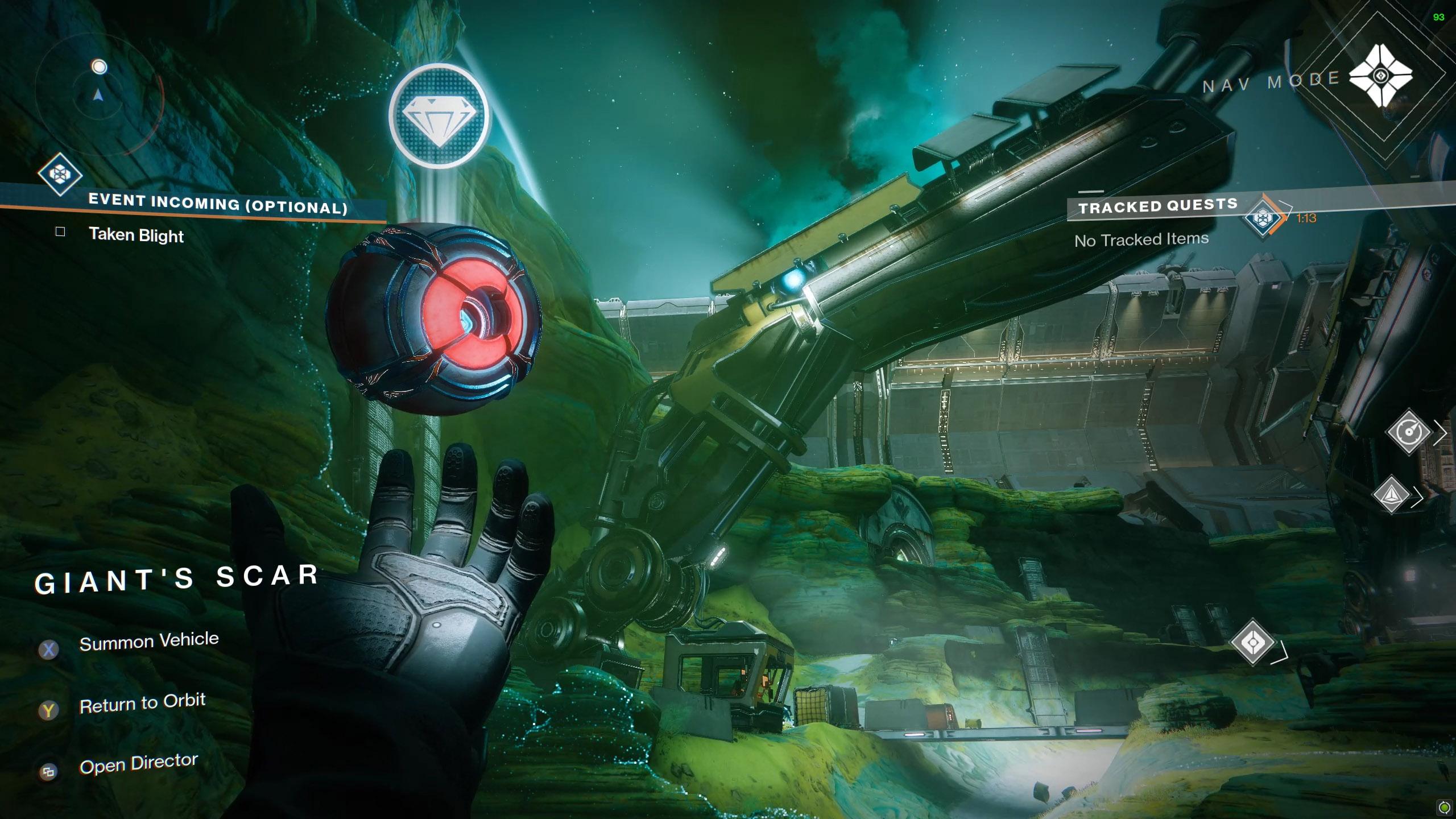 Destiny 2 Savanthuns Eyes Io Giants Scar