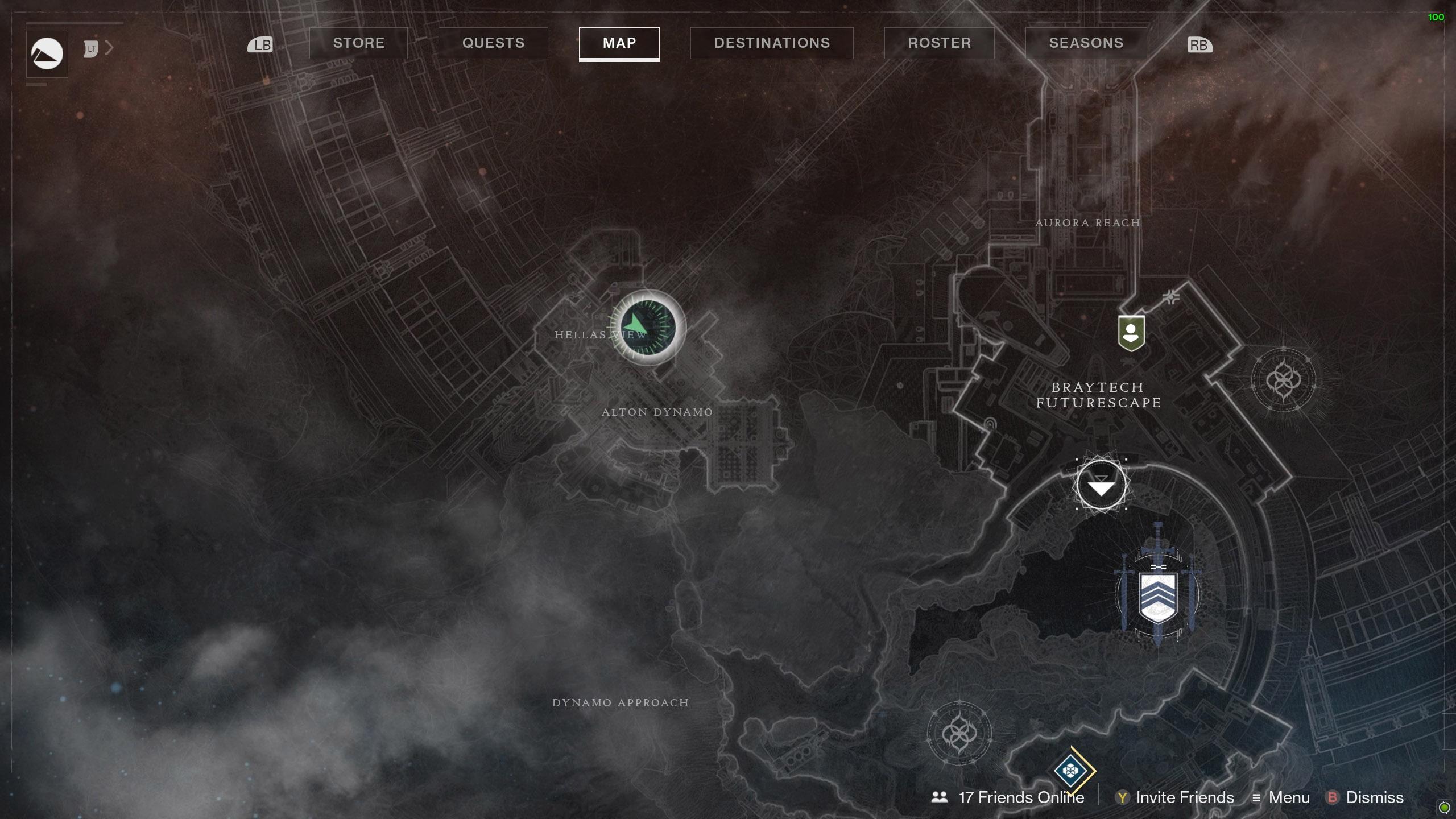 Destiny 2 Savathuns Eyes Mars Alton Dynamo map