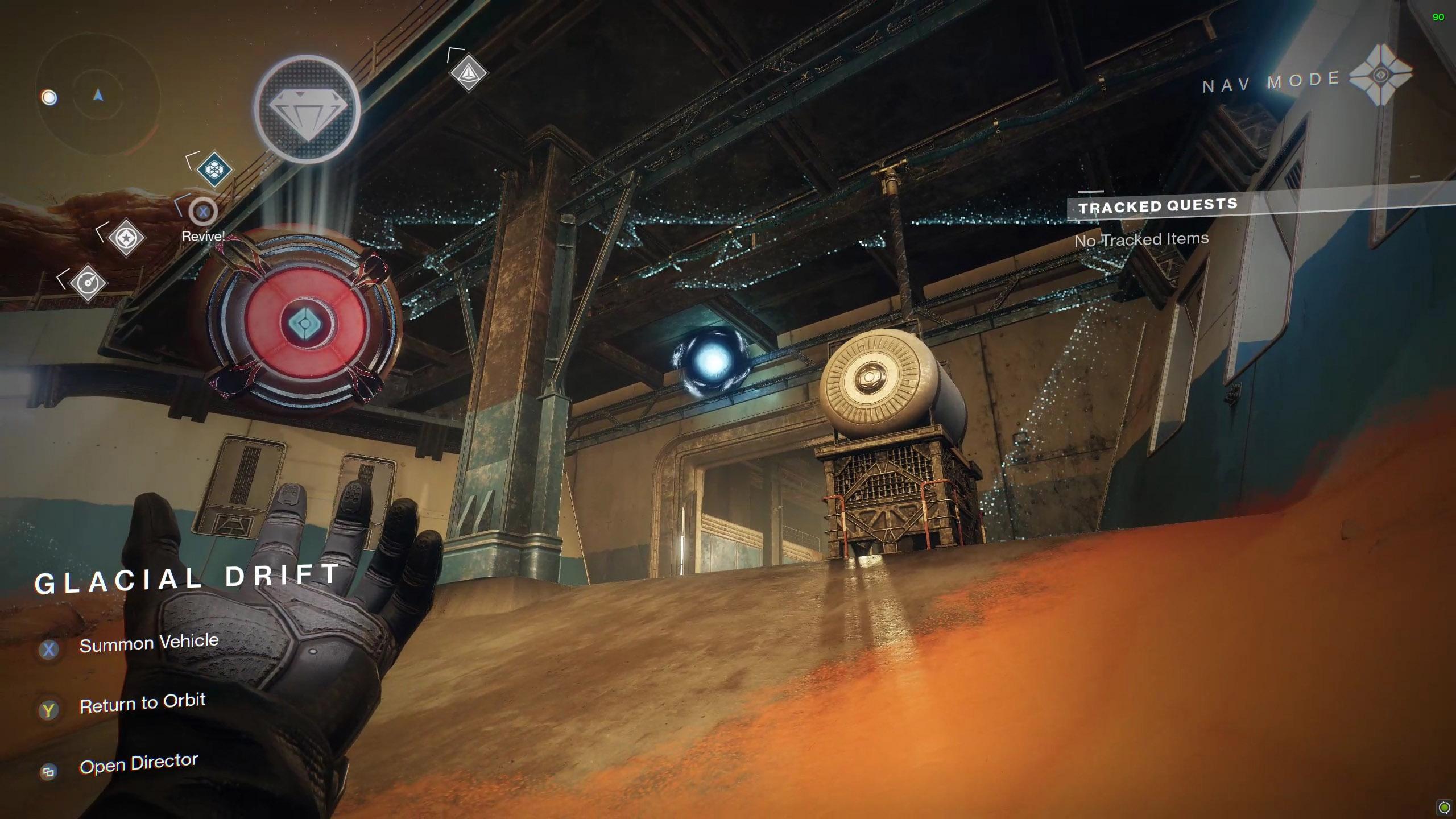 Destiny 2 Savathuns Eyes Mars Glacial Drift 1