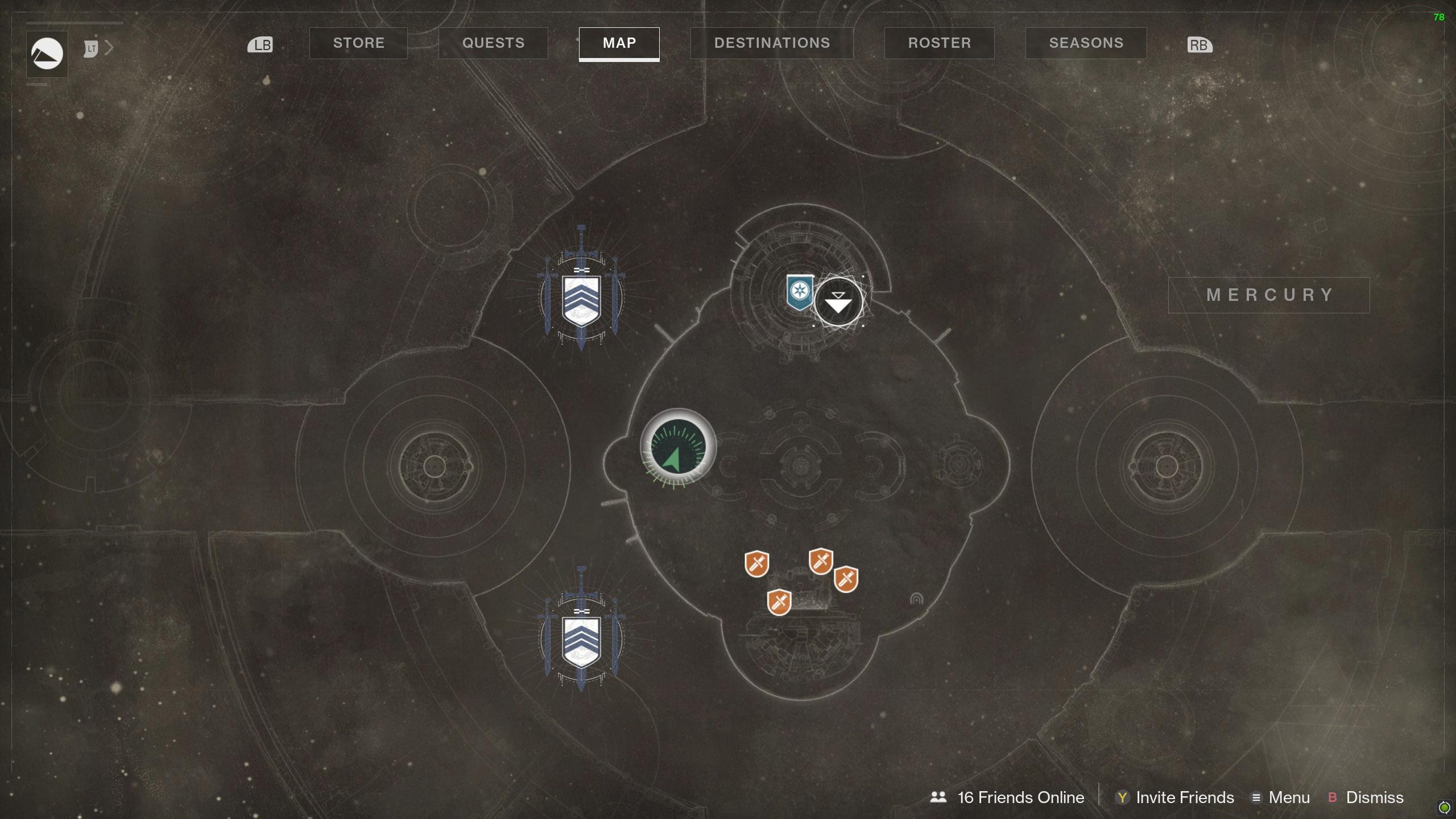 Destiny 2 Savathuns Eyes Mercury 1 map