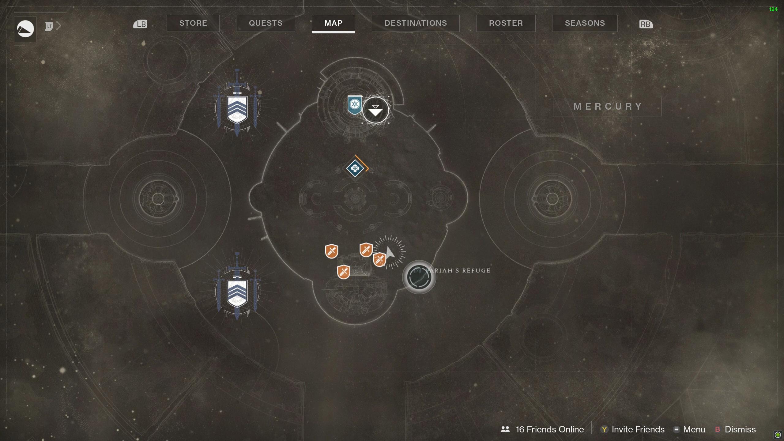 Destiny 2 Savathuns Eyes Mercury Pariah's Refuge 1 map