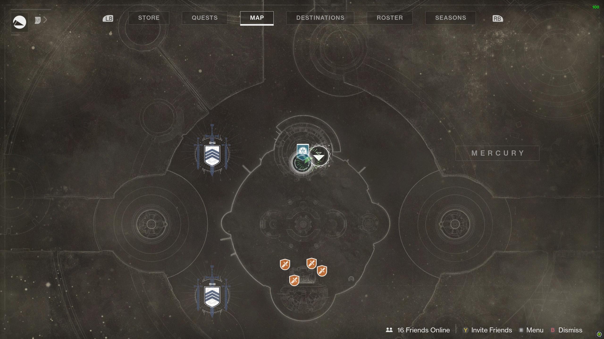 Destiny 2 Savathuns Eyes Mercury Lighthouse map