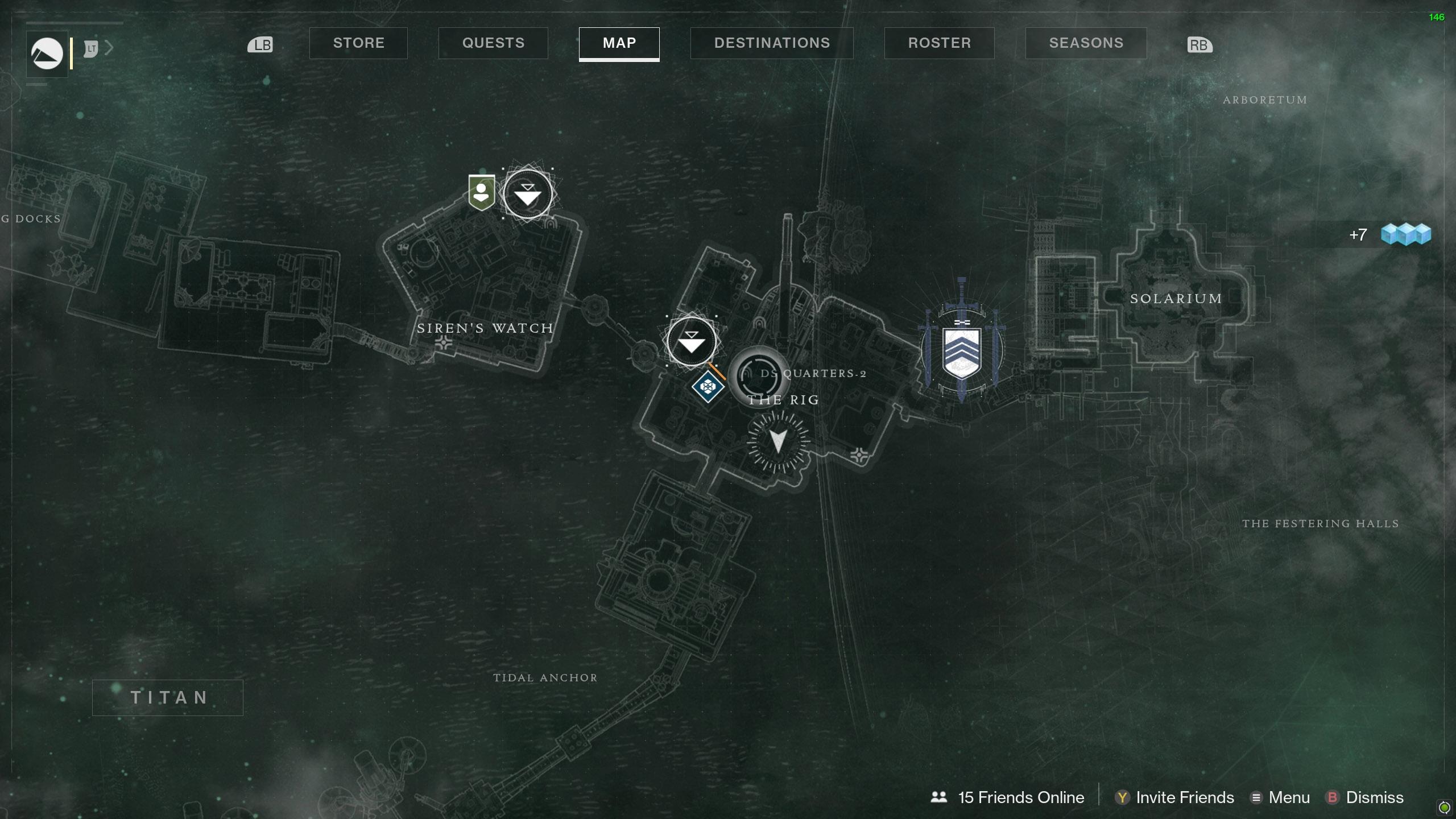 Destiny 2 Savanthuns Eyes Titan DS Quarters-2 map
