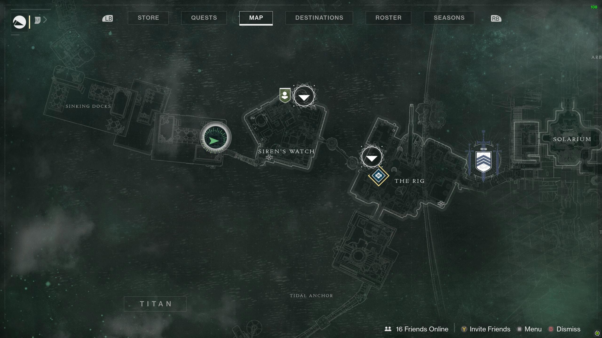 Destiny 2 Savanthuns Eyes Titan Sinking Docks map