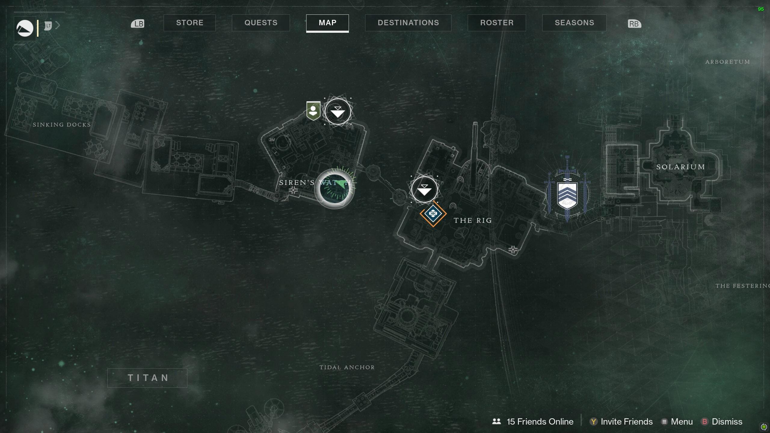 Destiny 2 Savathuns Eyes Titan Siren's Watch 1 map