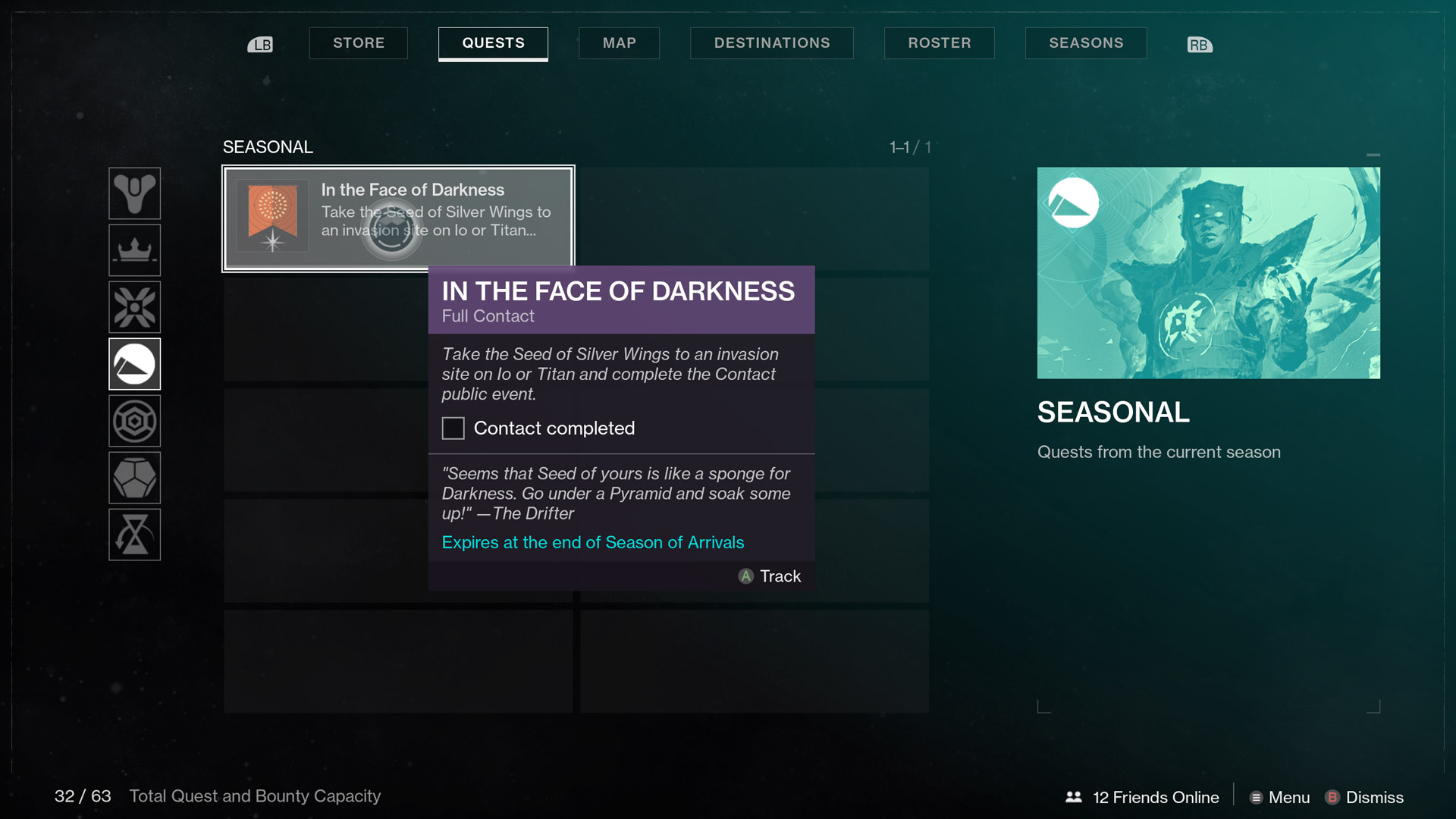 destiny 2 in the face of darkness