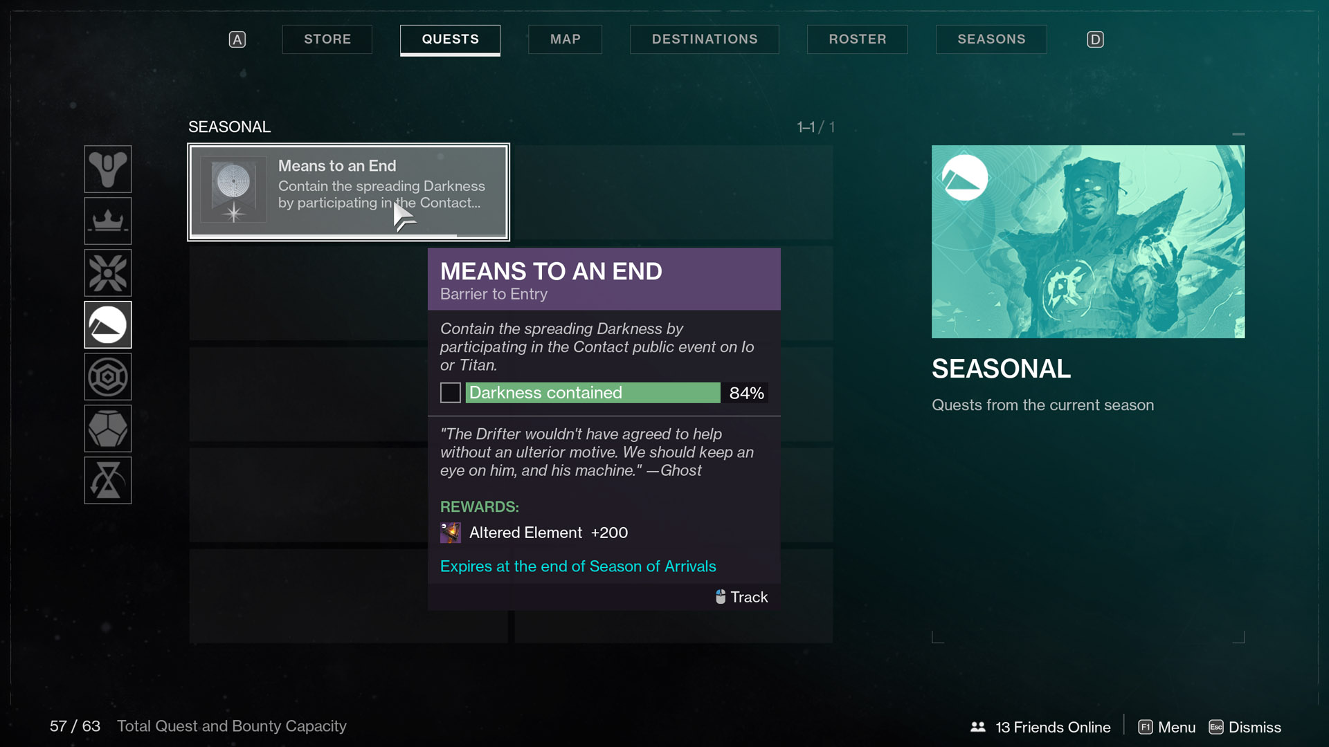destiny 2 season of arrivals Means to an End Barrier to Entry