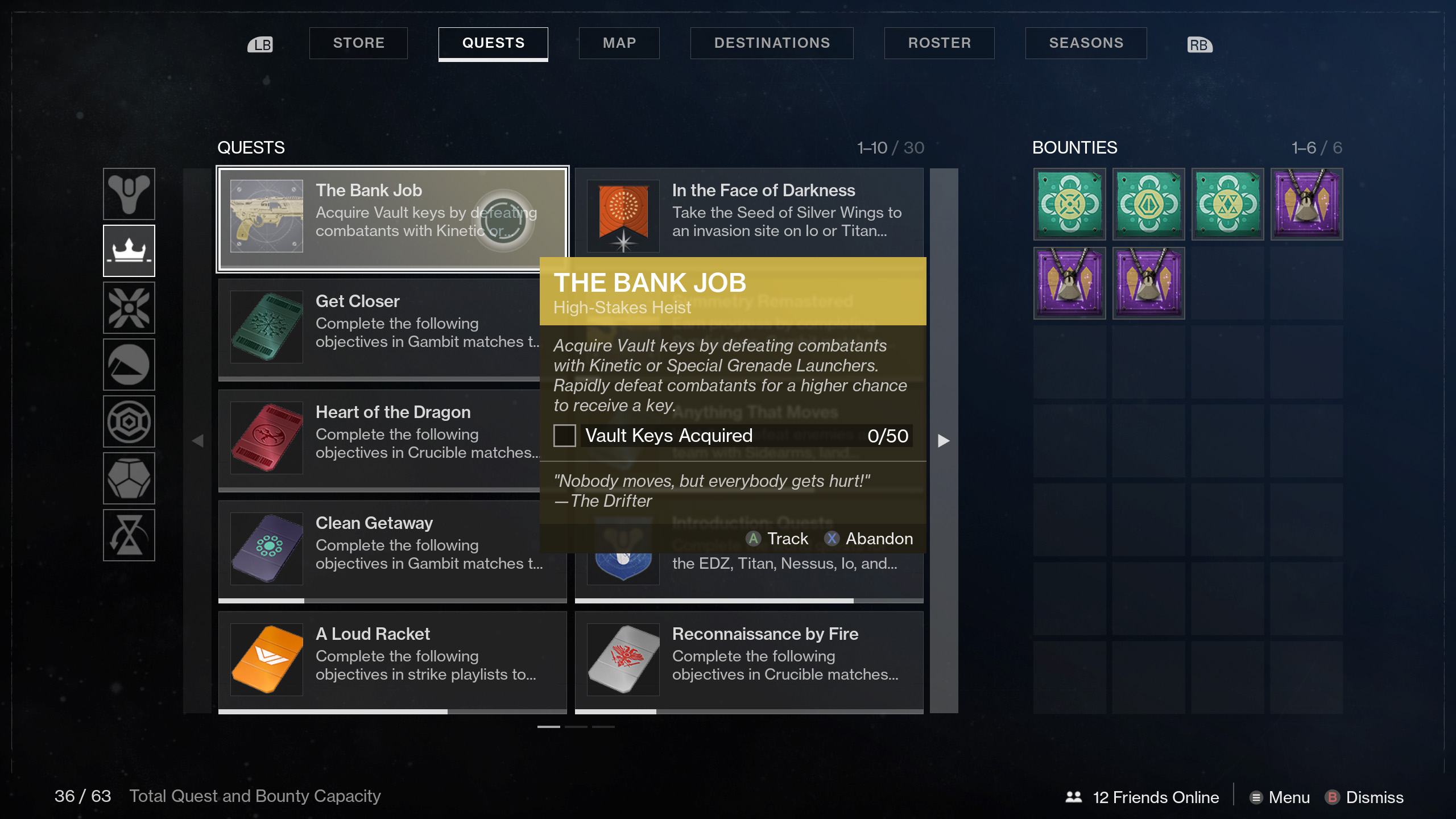 Destiny 2 The Bank Job High-Stakes Heist Witherhoard Exotic catalyst