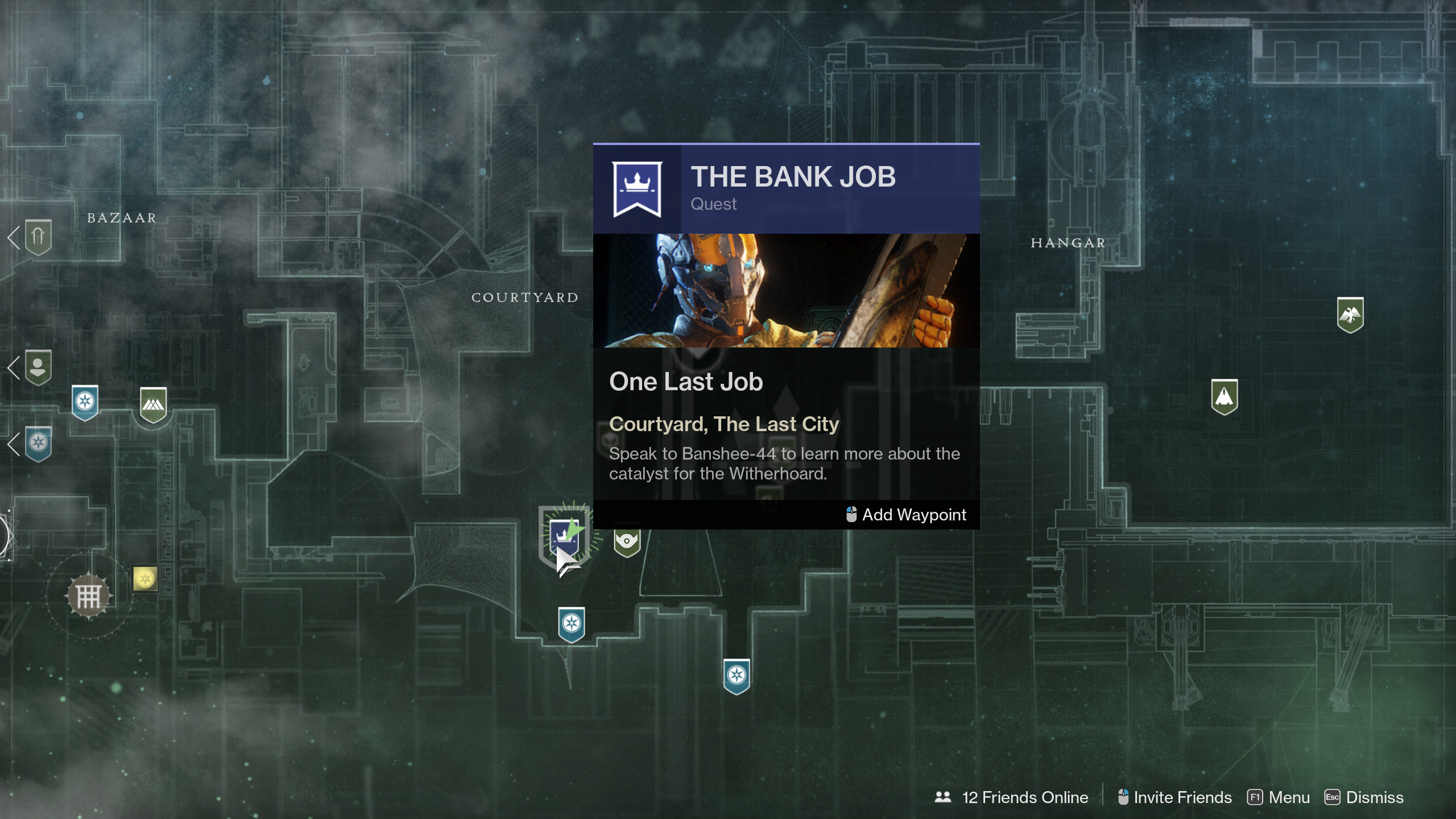 destiny 2 the bank job witherhoard exotic catalyst