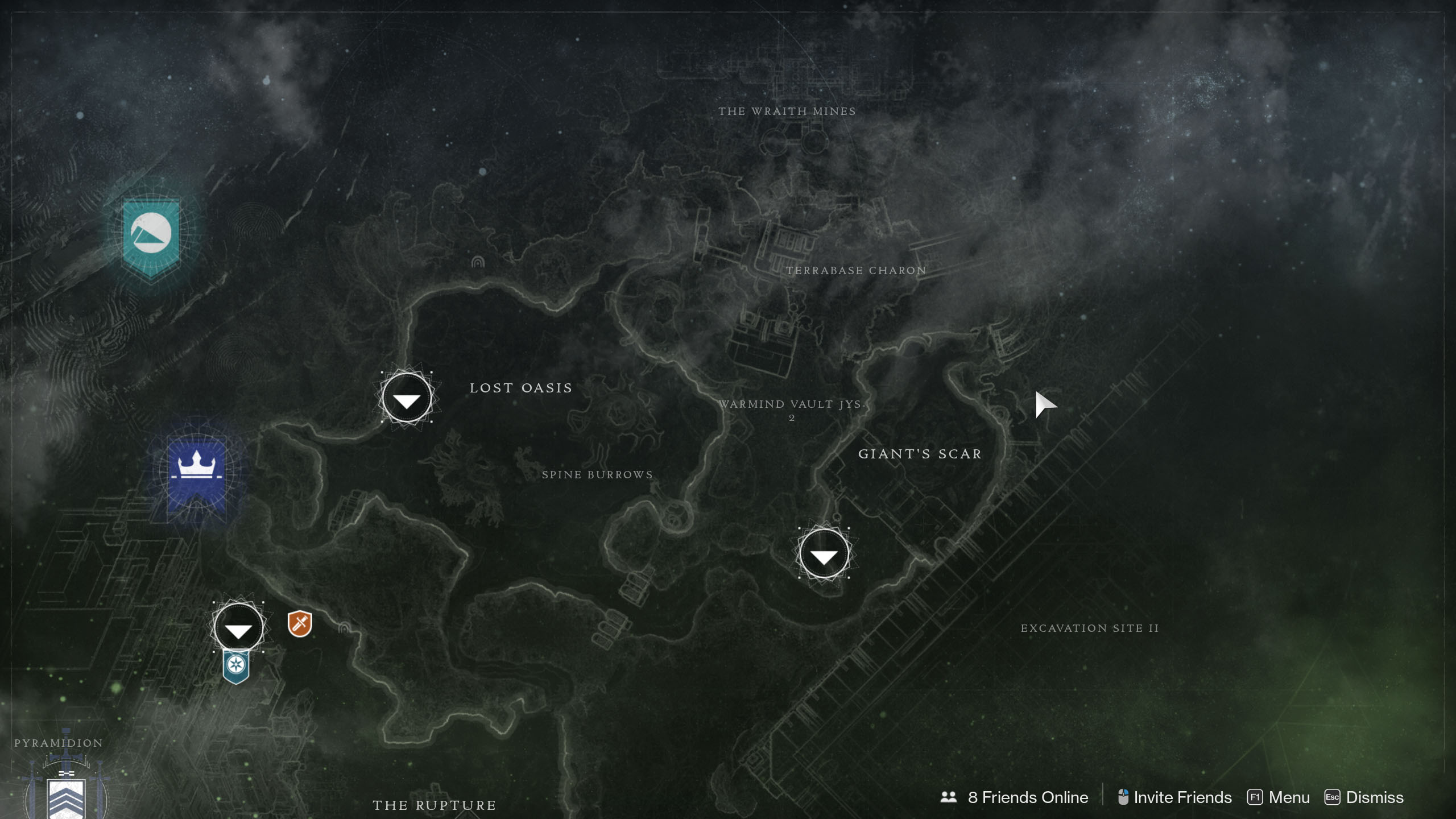 Xur's location for June 19, 2020