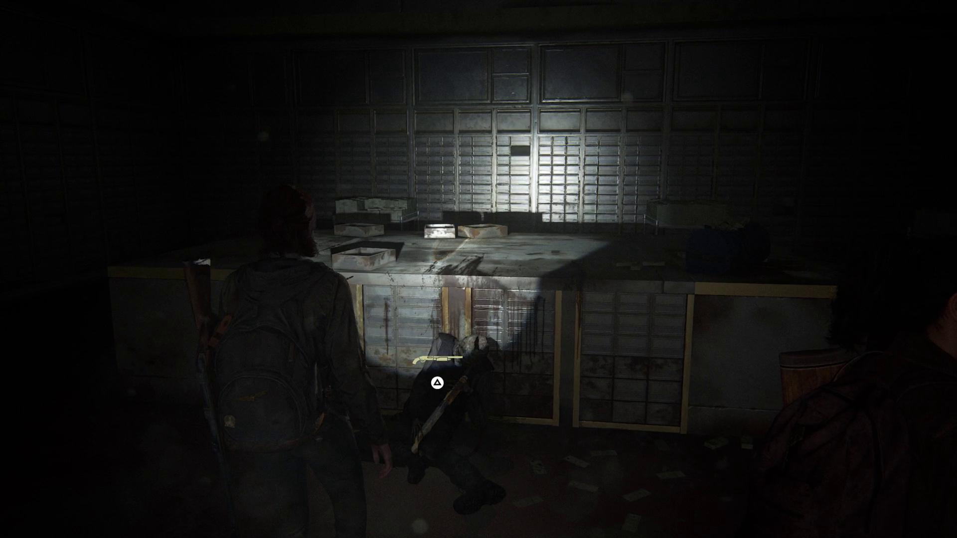 Pump Shotgun location in The Last of Us Part 2