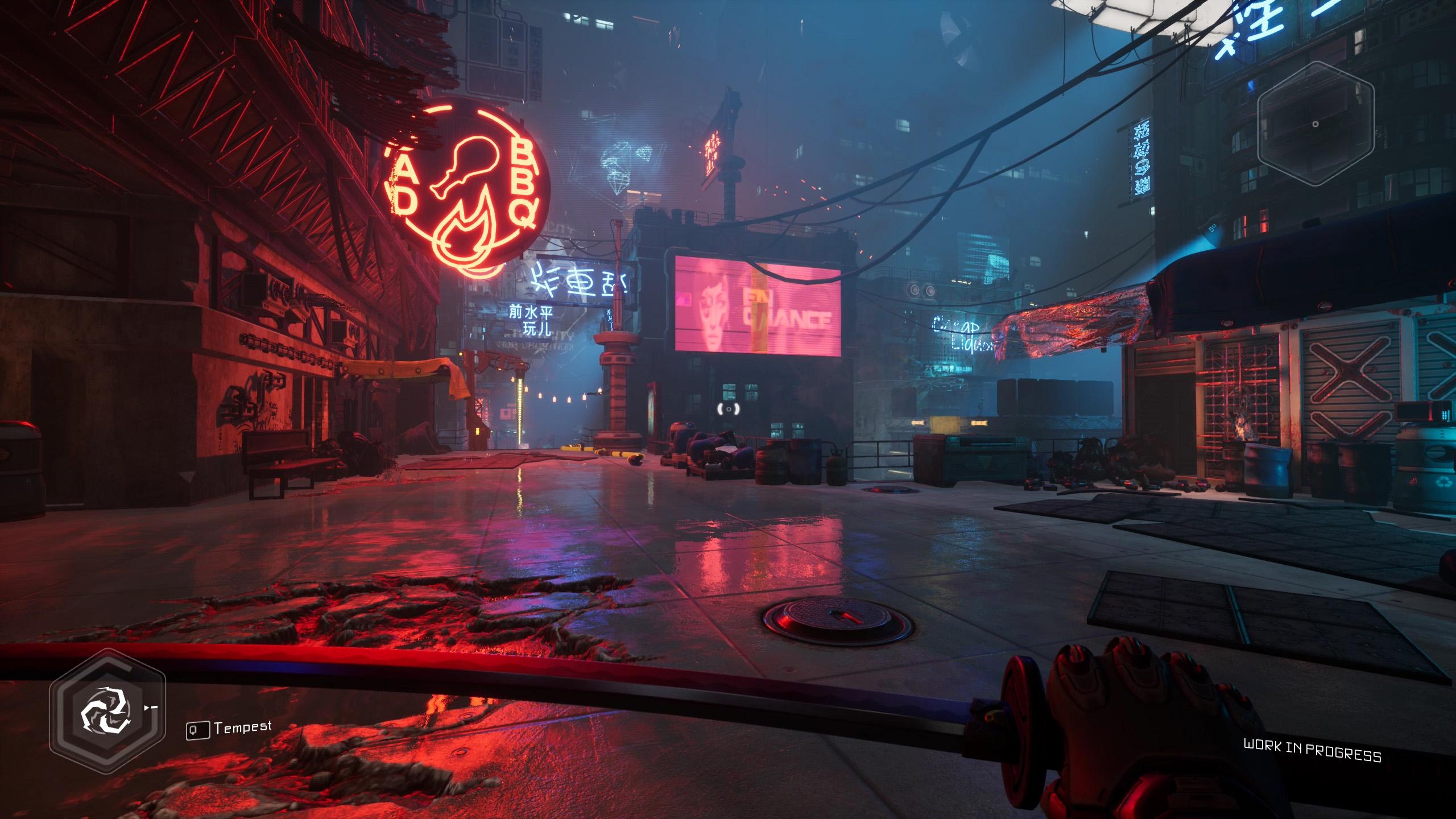ghostrunner cyberpunk inspiration