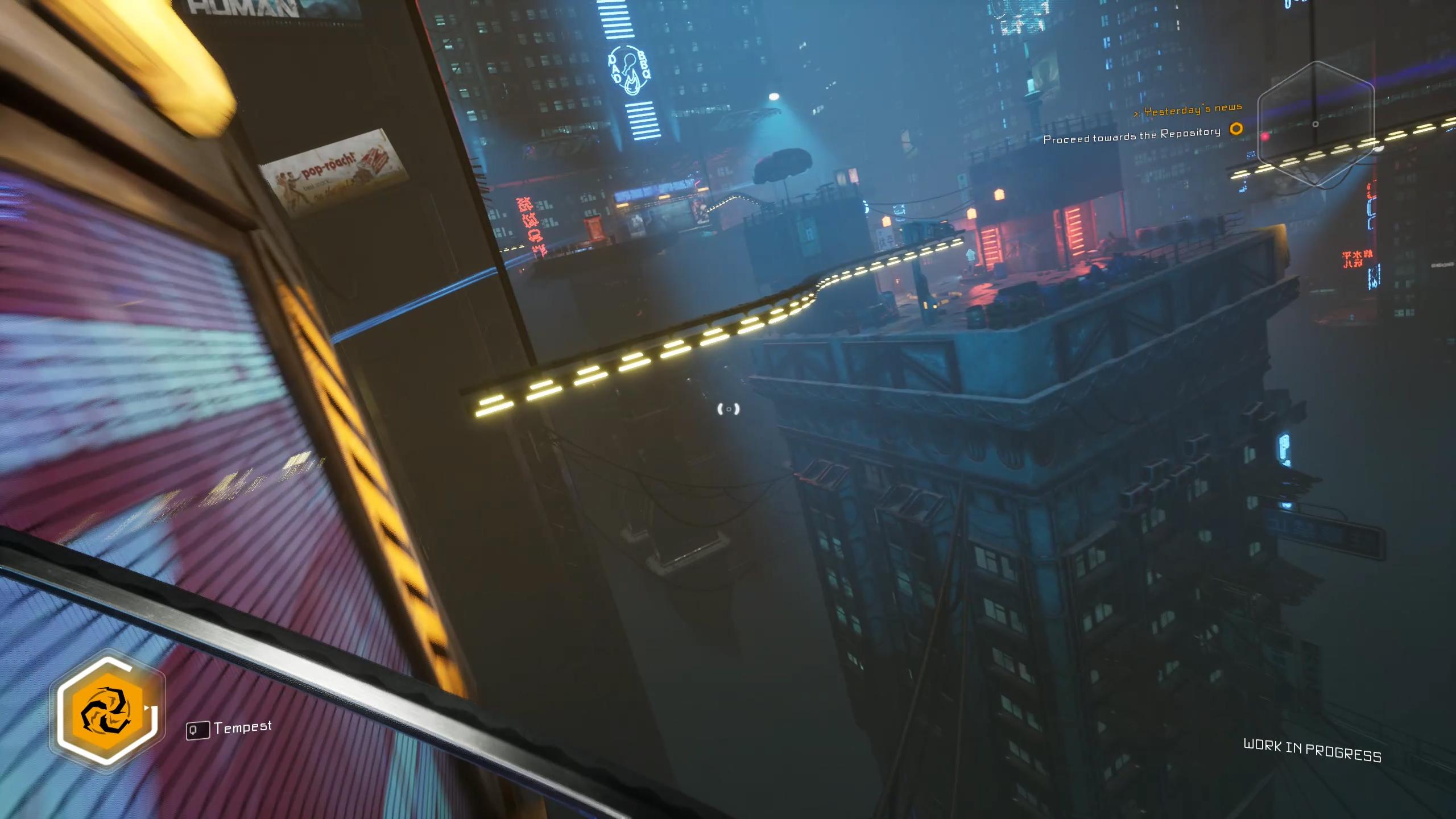 Ghostrunner preview signposting