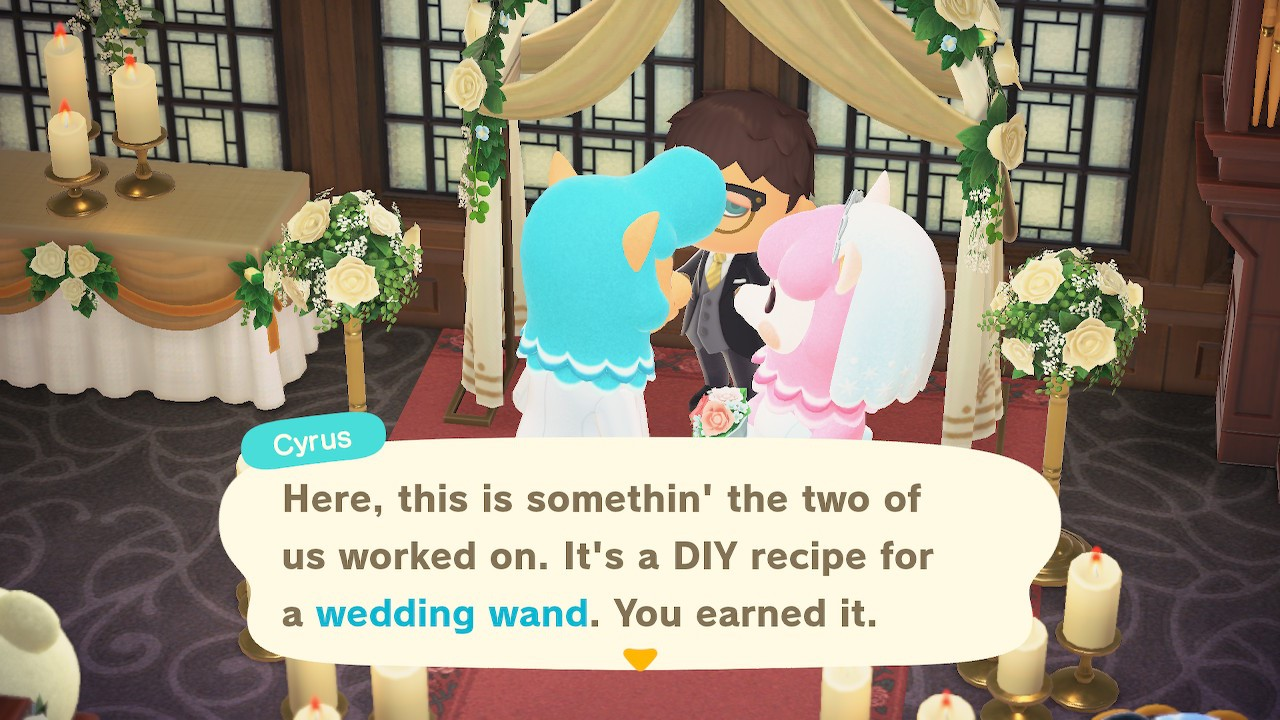 How to get the Wedding Day Wand DIY - Animal Crossing: New Horizons