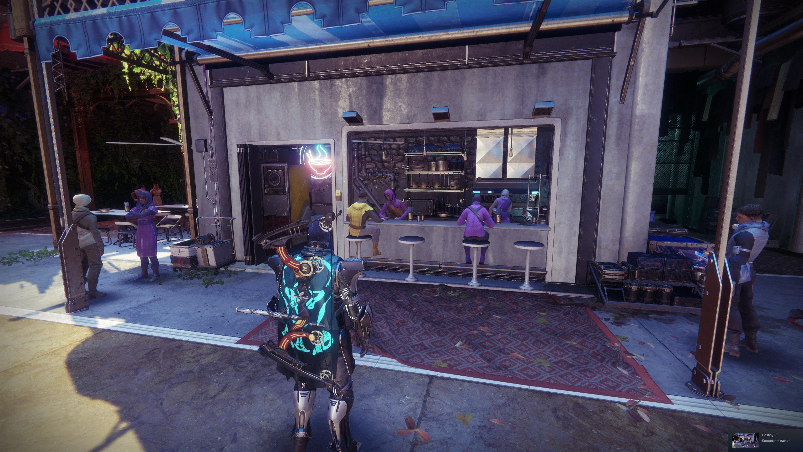 Noodle Shop Destiny 2