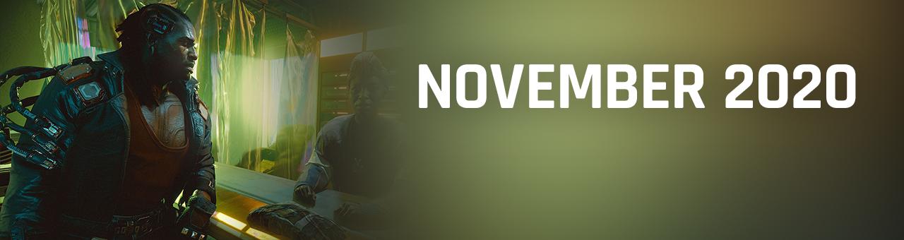 november 2020 game releases