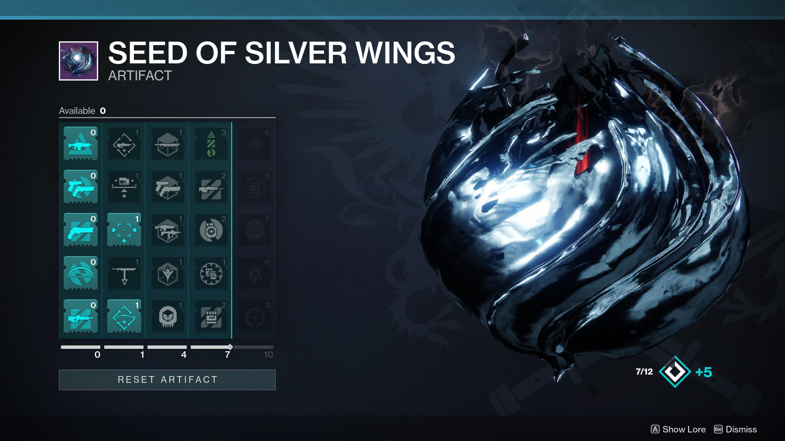 Season 11 Artifact Destiny 2