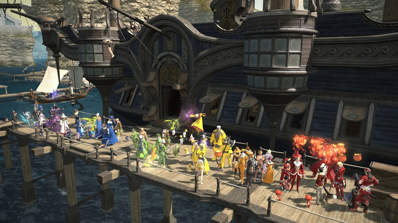 Inside and outside games, Square Enix has been no stranger to LGBTQ+ support, even featuring a Pride Parade in Final Fantasy 14 in honor of the Sydney Gay and Lesbian Mardi Gras parade in 2019.