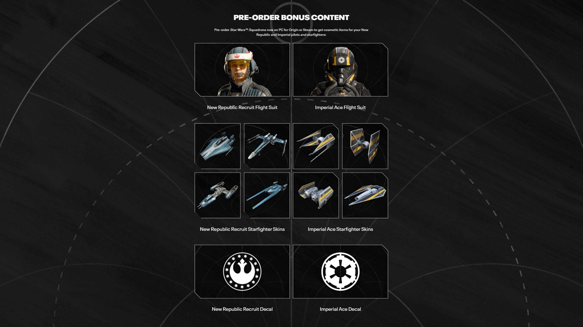 EA's Star Wars: Squadrons announced