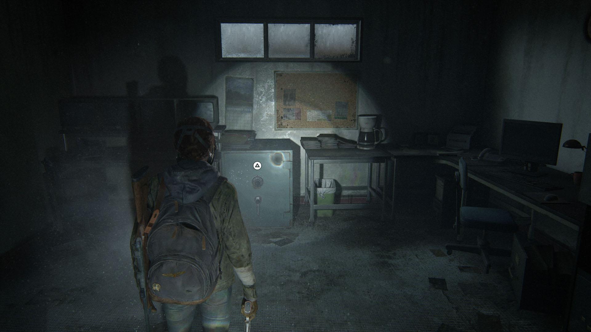 The Last of Us 2 safe codes - supermarket safe code