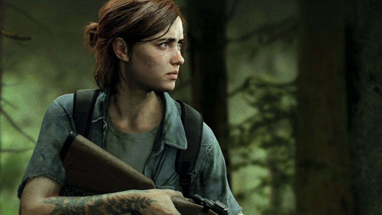 Ashley Johnson plays Ellie in The Last of Us Part 2.