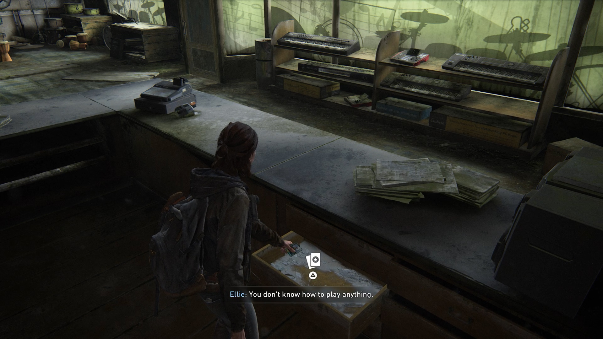 Trading Card locations in Tlou2 - Das Wort
