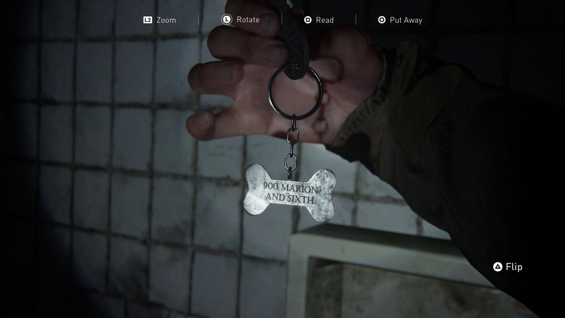 The Barkos Key in The Last of Us Part 2