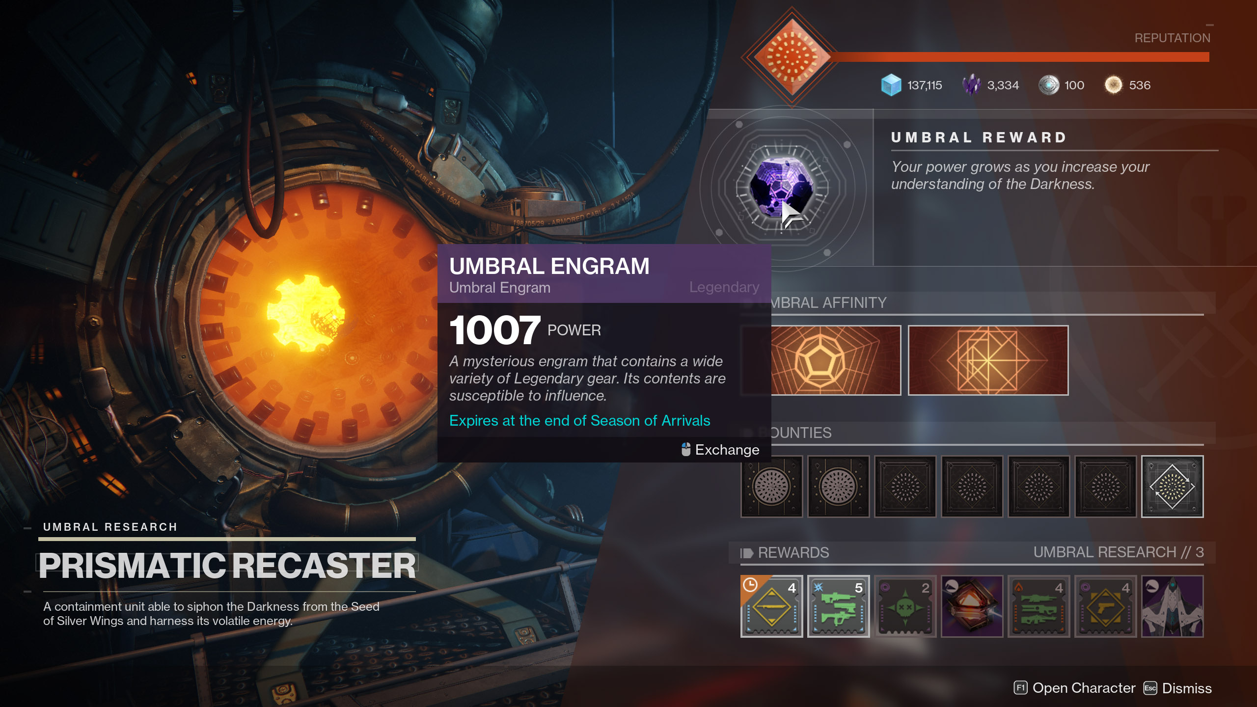Umbral Engram Destiny 2