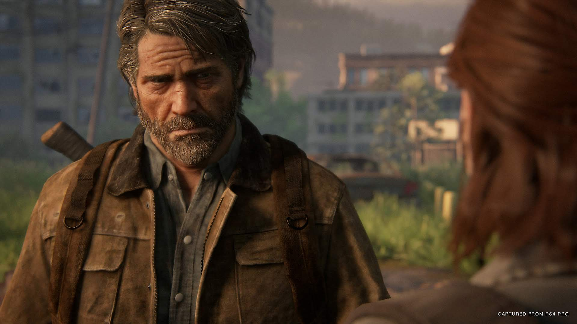Joel and Ellie talk in The Last of Us Part 2, exclusively on PlayStation 4