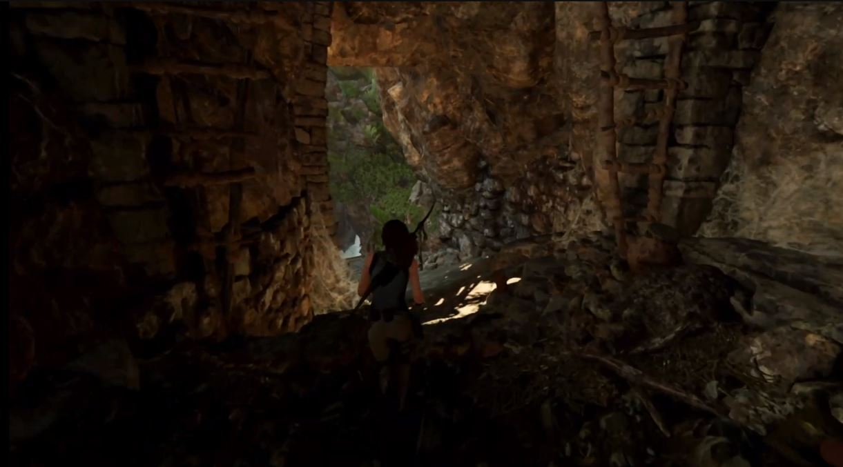 Apple showed off the Intel version of Shadow of the Tomb Raider running on Apple Silicon.