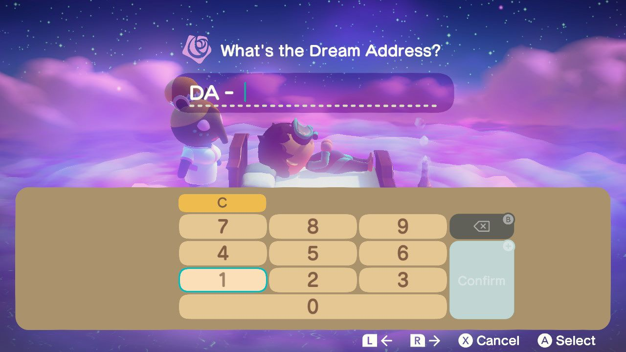 Enter the Dream Address to dream about other islands - animal crossing: new horizons