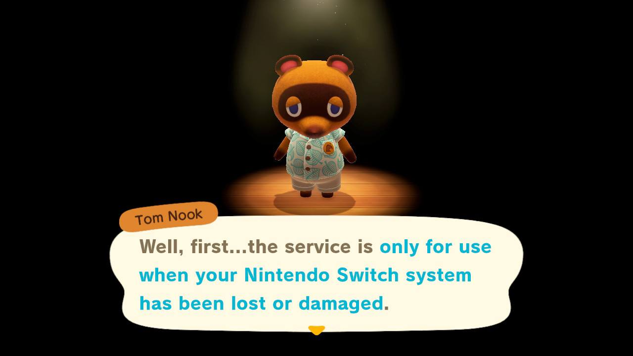 How to activate island backup cloud saves - animal crossing: new horizons