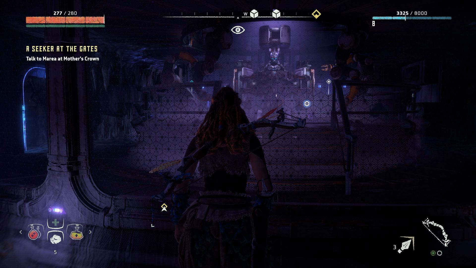 ancient armory quest horizon zero dawn