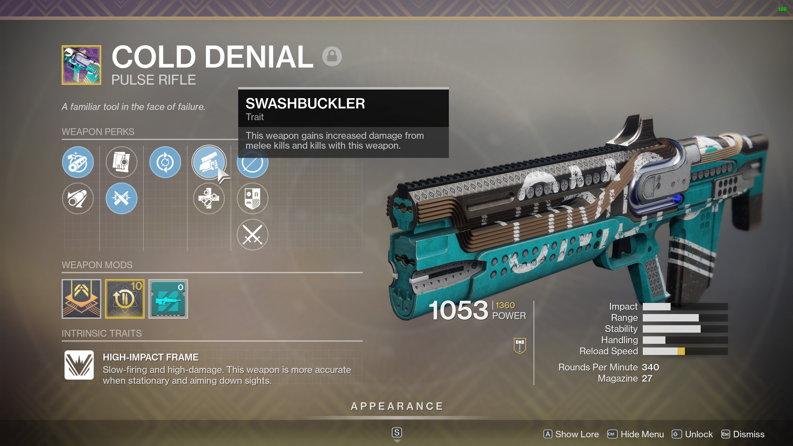 Cold Denial Destiny 2
