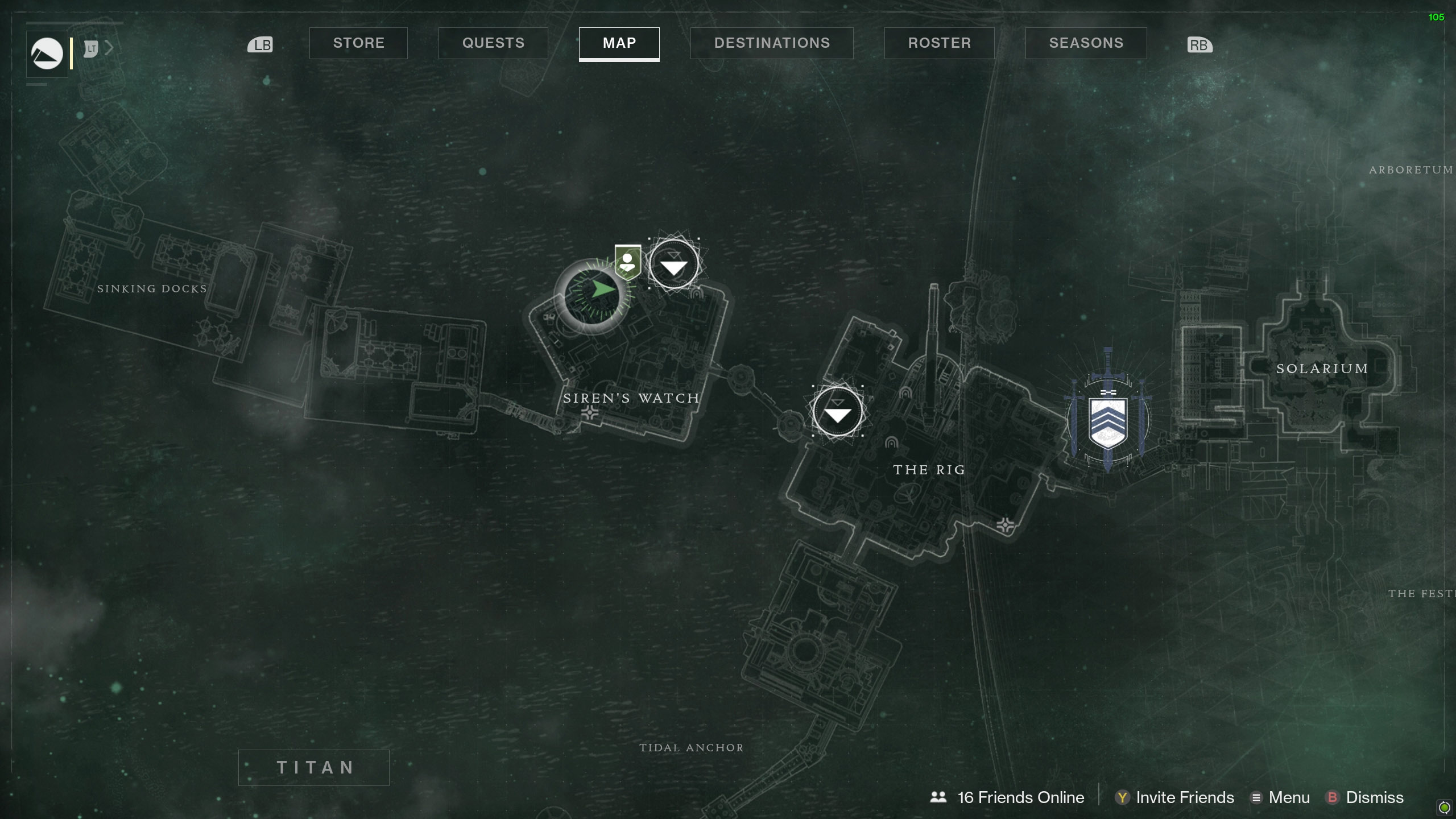 Все места глаз Саватун в Destiny 2